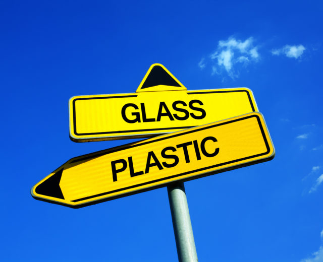 Glass vs Plastic packaging